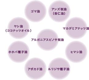 9種の美肌成分