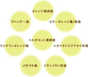 8種の精油