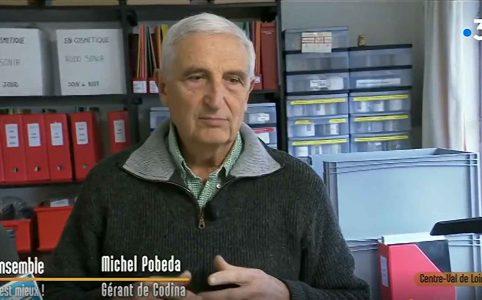 いくつになっても探求心を忘れないミシェル・ポペダ博士。