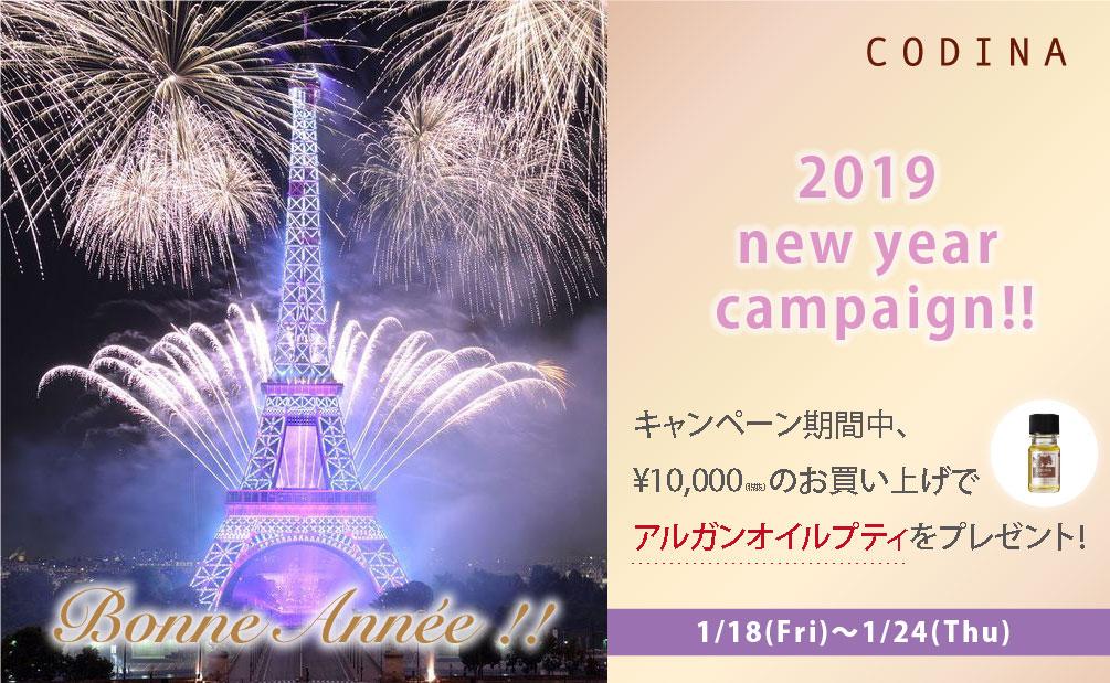 2019ニューイヤーキャンペーン